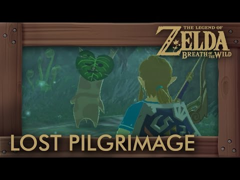 Zelda Breath of the Wild - The Lost Pilgrimage Shrine Quest