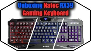 Unboxing - Natec RX39 Gaming Keyboard