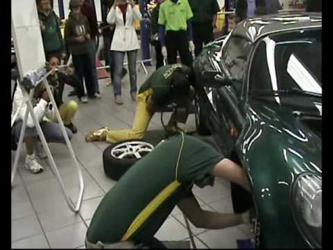 "LOTUS TEAM ITALY 60TH ANNIVERSARY LOTUSCARS PART 3""THE PITSTOP PANIC"""