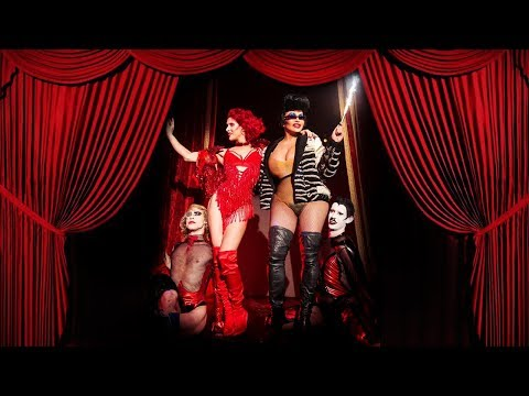 """Love Bailey Performs """"Hollywood Hooker"""" at Manko Cabaret in Paris"""