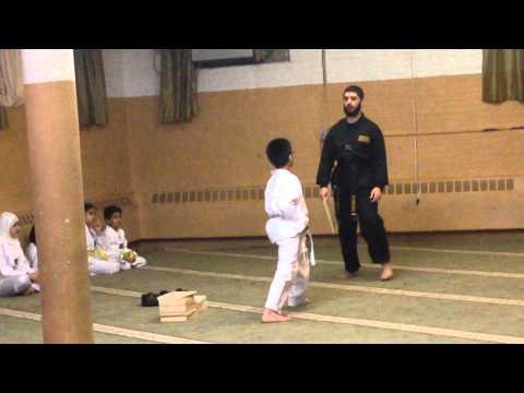 Martial Arts Mecca Bayonne Yellow Belt Test