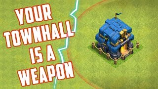The TOWNHALL That KILLS | Upgrades to Townhall 12 | Clash of Clans | Worst Attack |