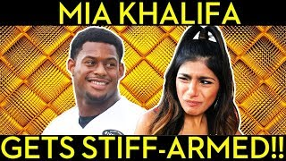 Mia Khalifa Got Owned by JuJu Smith-Schuster