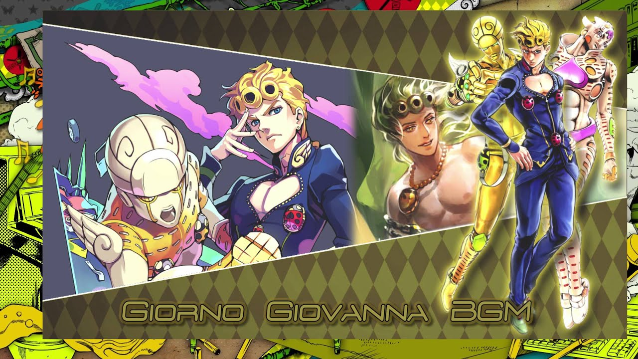 JoJo's Bizarre Adventure: Eyes of Heaven OST - Giorno Giovanna Battle BGM
