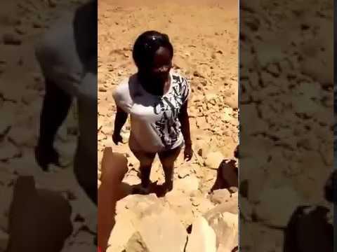 calmilove at mountain sinai in Egypt
