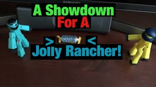 A Showdown For A Jolly Rancher! | #Stikbot