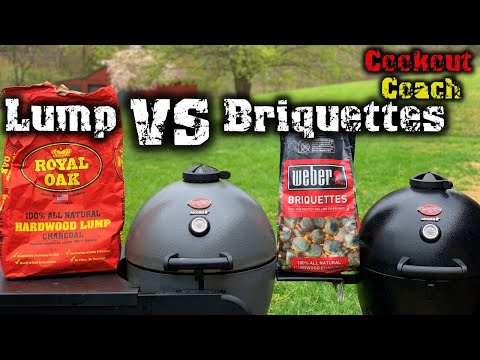 Lump Charcoal VS Charcoal Briquettes Which Burns Longer