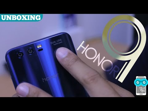 Unboxing Huawei Honor 9 Indonesia, RACUN KELAS BERAT!