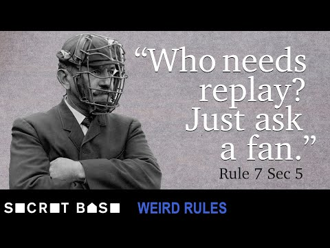Early MLB had very dumb rules and teams ready to take advantage of them | Weird Rules