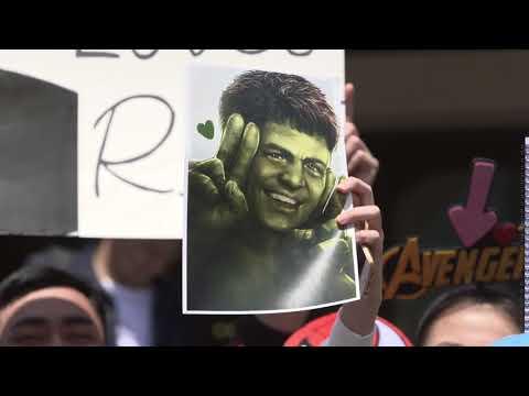 Avengers: Infinity War: Shanghai Red Carpet Atmosphere