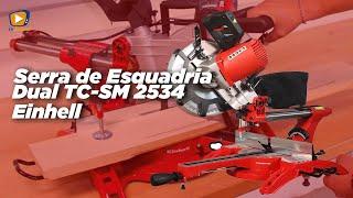 Serra de Esquadria Dual TC-SM 2534 Einhell