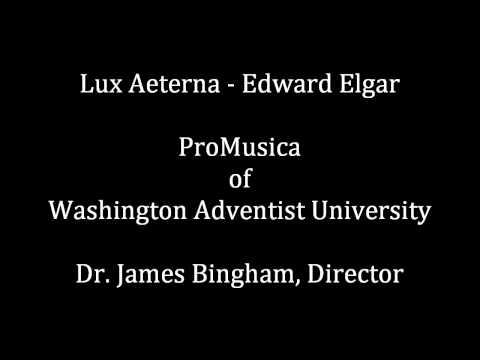 Lux aeterna - Edward Elgar