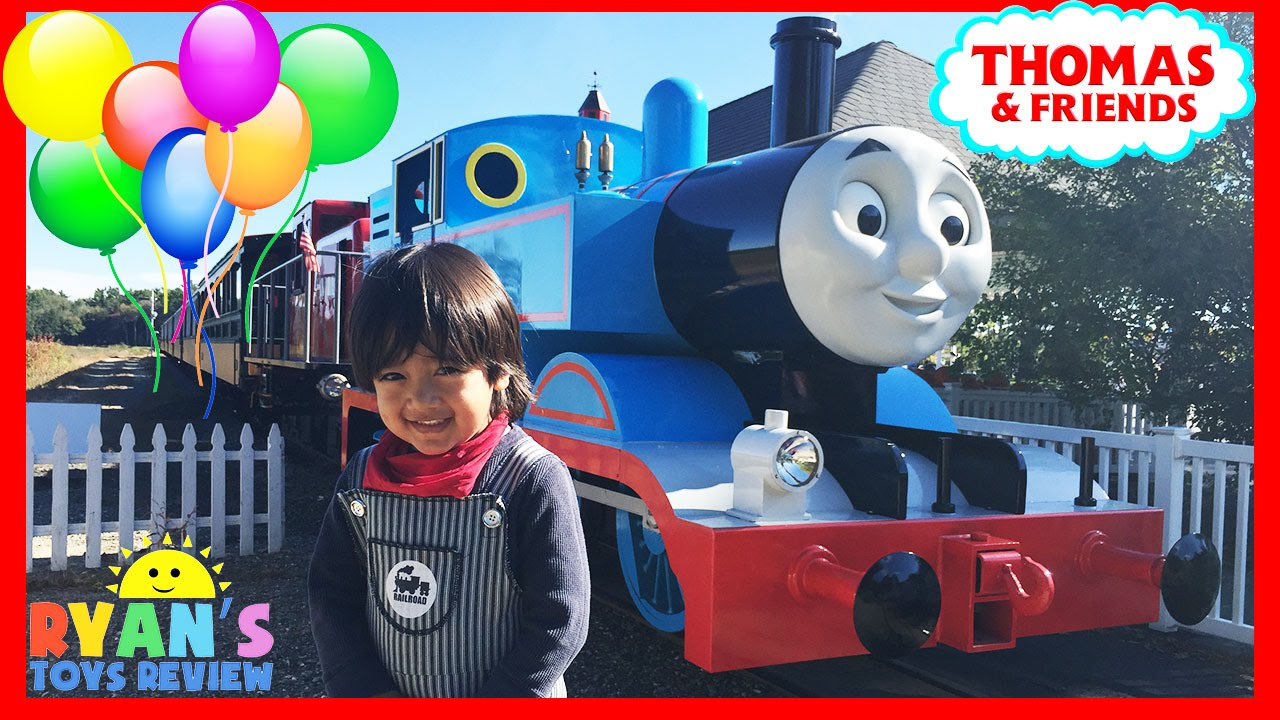 94966efd960a THOMAS AND FRIENDS Train Rides for kids at ThomasLand Amusement park