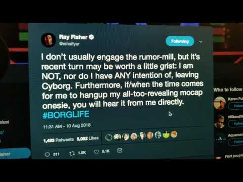 Ray Fisher IS NOT Leaving Cyborg