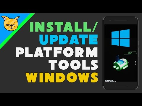 Install Android Platform Tools (adb & fastboot) on Windows
