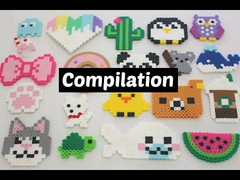 Perler Bead DIY Compilation   20 Designs
