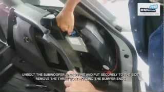 2004 Audi A4 3.0 Quattro Rear Bumper Removal