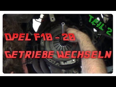 Opel F10 F13 F16 F18 F20 Getriebe wechseln Teil2. Was zum Teufel ?!?! :o