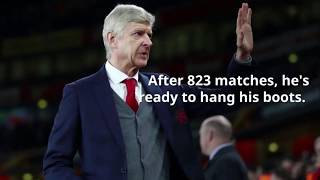 After 823 matches, arsene wenger now ready to leave arsenal