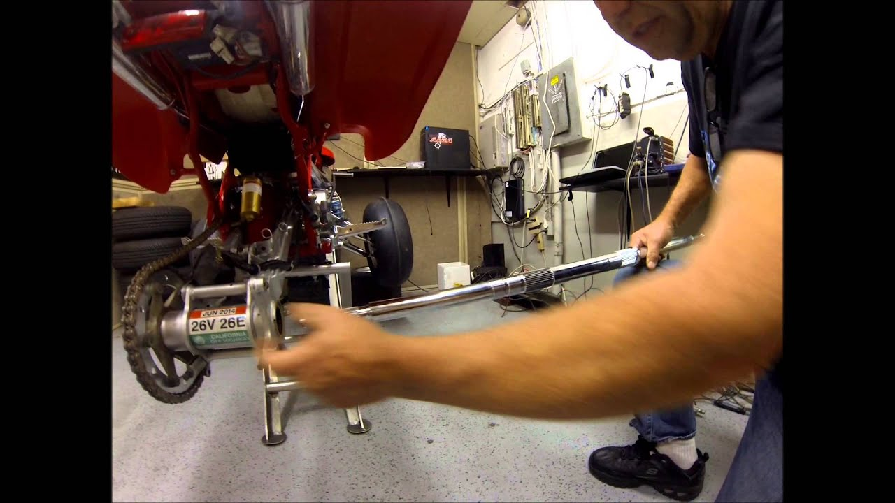 Alba Racing Extended Rear Axle For Banshee Installation Youtube Free Yamaha Wiring Diagram