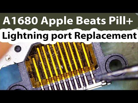 a1680-beats-pill+-lightning-connector-replacement---bad-charging-port-awkward-board-design