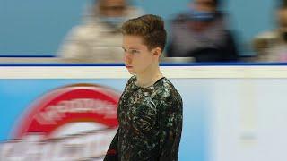 Андрей Мозалев Произвольная программа Кубок России по фигурному катанию 2020 21 Четвертый этап