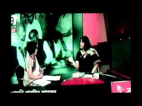 Sharmin Ahmed, Daughter of Tajuddin Ahmed Live on 71-TV