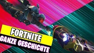 SECRET behind the Cube - The WHOLE Story  | Fortnite Season 6 Deutsch German