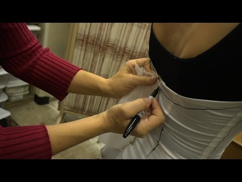 Constructing a Classical Ballet Tutu (Part 1: Fitting the Muslin Pattern)