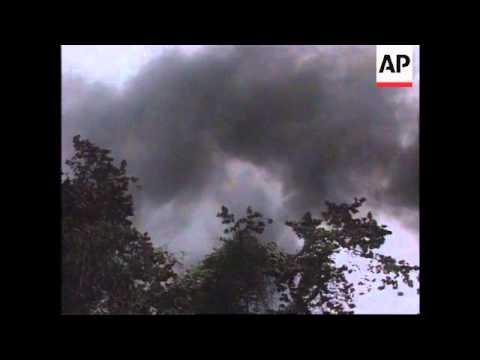 Bangladesh - Huge fire at natural gas field