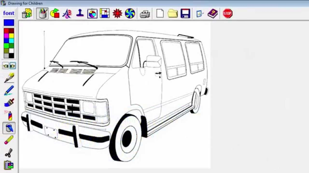 Convert Free Coloring Pages For Use With Graphics Programs - Computer  Tutorial
