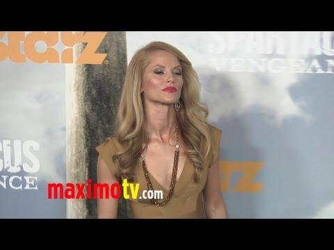 """Ellen Hollman at """"Spartacus: Vengeance"""" Premiere ARRIVALS"""