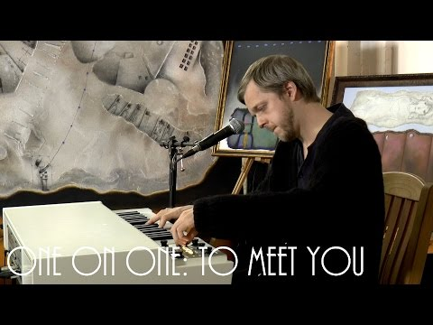 One On One: Teitur   To Meet You October 22nd, 2016 Outlaw Roadshow Session