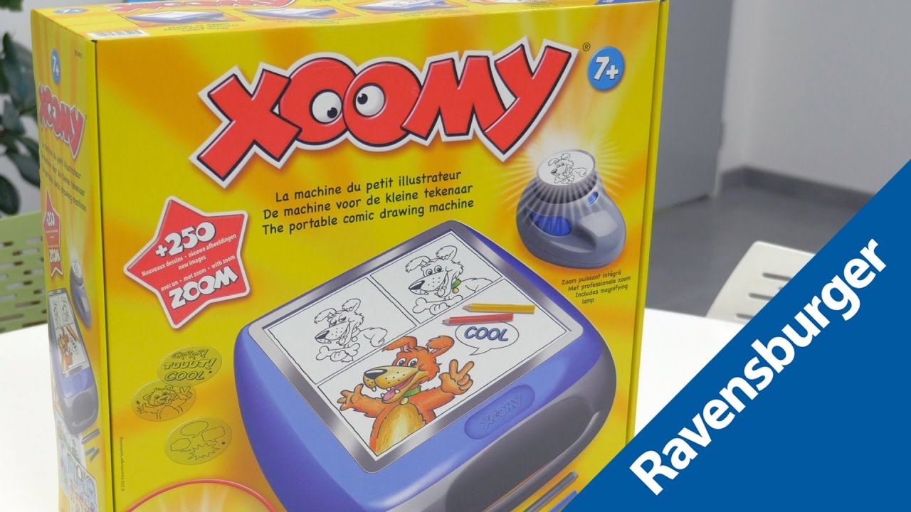 Xoomy Maxi Demo De La Tablette A Dessin Youtube