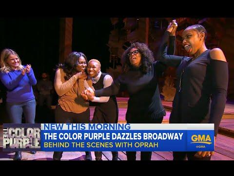 Oprah Winfrey Goes Behind the Scenes of