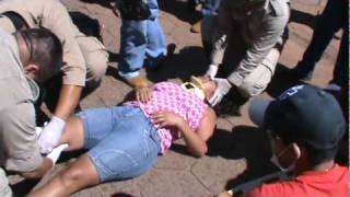 Eventos 2010 - Accidente de Moto en la Línea Internacional