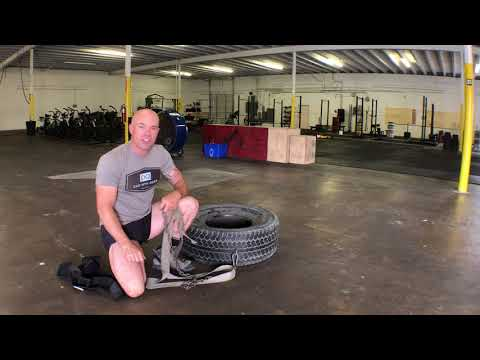 Best Exercises For Hunting - TIRE DRAG