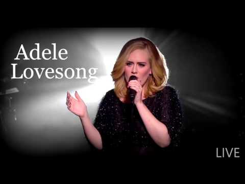 Adele - Lovesong (live) Full HQ Audio