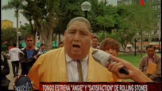 Nota -  Tongo estrena Angie y Satisfaction de Rolling Stones
