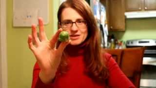 Weekly Food Challenge Episode 2:  Bring On The Brussels Sprouts!