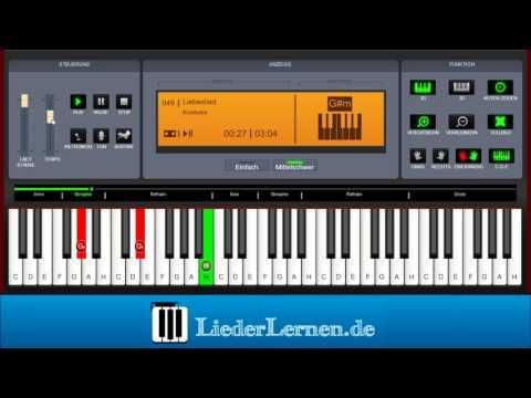 Knorkator - Liebeslied - Klavier lernen - Musiknoten - Akkorde