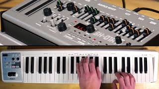 Sounds of the Roland Boutique SH-01A Synthesizer