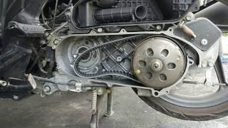 cara cepat mengganti v belt vario 125