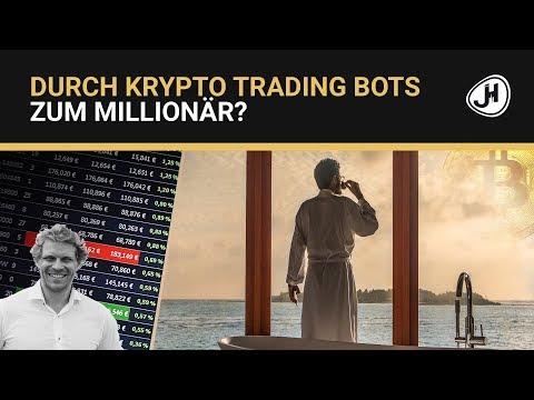 Durch Krypto Trading Bots zum Millionär?