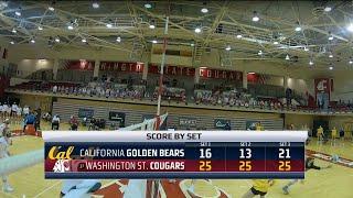 WSU VB: Highlights vs. Cal 2/28/21