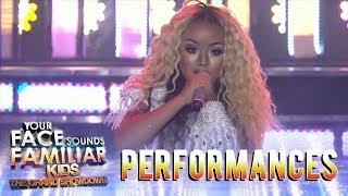 Your Face Sounds Familiar Kids 2018: Sheena Belarmino as Beyoncé | Run The World