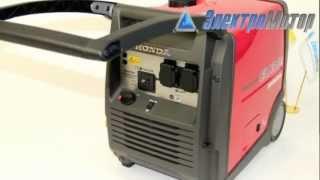 видео Дизельные генераторы компании Honda