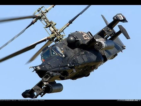 Ka 52 Alligator Attack Helicopter Russian military Power   Russian Air Force VVS 720p 30fps H264 192