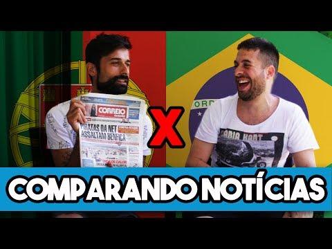 COMPARANDO NOTÍCIAS: Brasil x Portugal - Maurício Meirelles e Antônio Raminhos