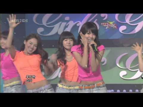 090206 SNSD - Gee @ Music Bank